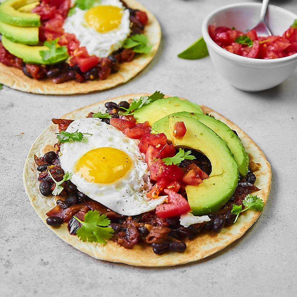 Heuvos rancheros czyli śniadanie w stylu meksykańskim