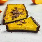 Tarta dyniowa z czekoladą deserową