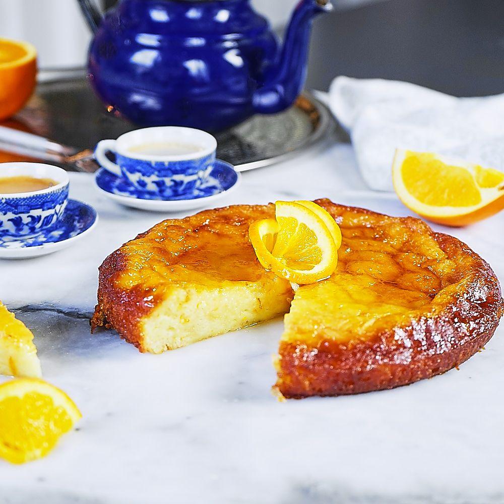 Portokalopita, czyli greckie ciasto pomarańczowe