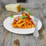 Prosta domowa lasagne bolognese