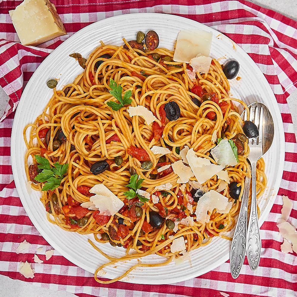 oryginalny przepis na spaghetti puttanesca
