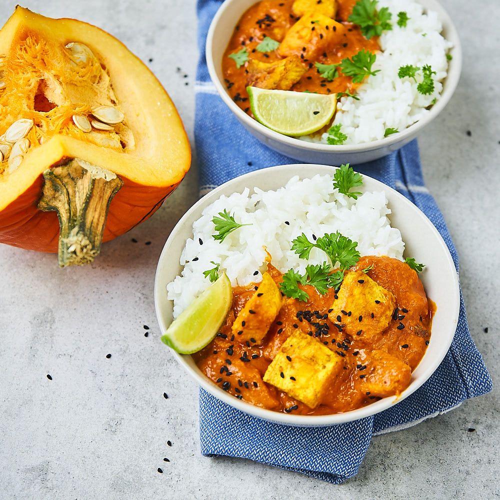 vege curry z dynią