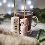 Miętowa gorąca czekolada