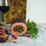 Rolada wołowa z grzybami i gorgonzolą