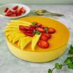 Fit sernik z mango - 4 składniki